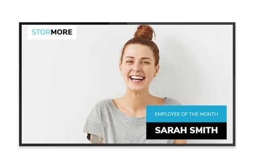 Office Digital Signage - Single LED Screen