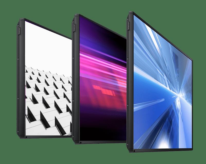 Commercial Grade Screen Array - 3 Screens